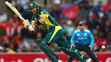 Glenn Maxwell could not capitalise on a strong start