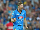 Ben Laughlin conceded 51 runs in four overs, Adelaide Strikers v Sydney Sixers, BBL 2014-15, semi-final, Adelaide, January 24, 2015