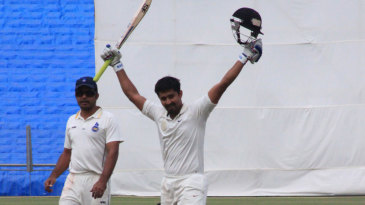 Shrikant Mundhe raises a second first-class ton
