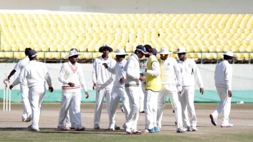 Andhra get together after the dismissal of Himachal's Abhimanyu Rana