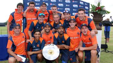 Netherlands are all smiles after claiming the WCL Division Two title