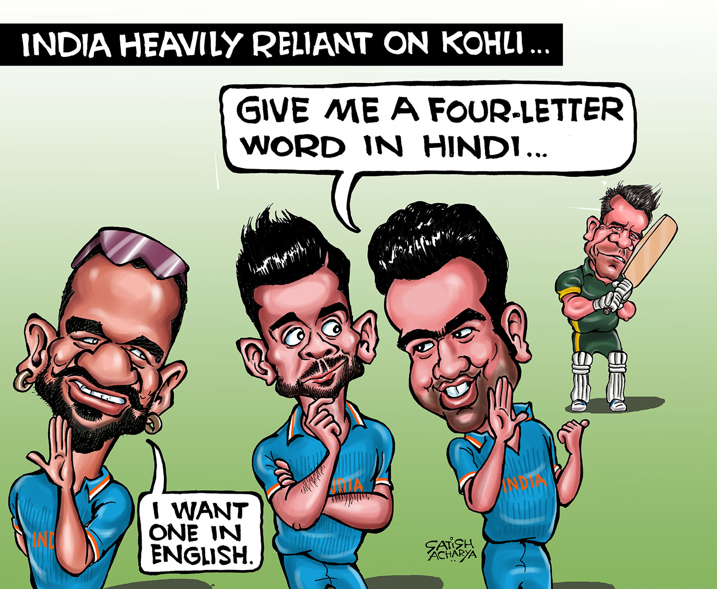 Blogs Cartoon Four Letters Cricket Blogs Espncricinfo