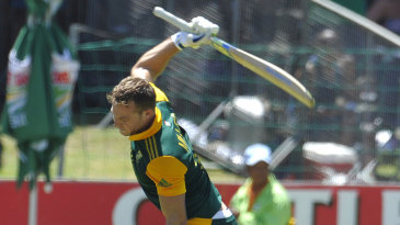 David Miller reached his maiden ODI hundred