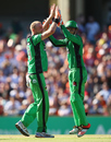 Michael Beer picked up two wickets, Perth Scorchers v Melbourne Stars, Big Bash League 2014-15, semi-final, Perth, January 25, 2015