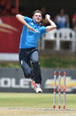 Harry Gurney picked up 3 for 26, South Africa A v England Lions, 1st unofficial ODI, Bloemfontein, January 25, 2015