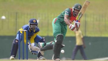Nazmul Hossain Shanto top-scored with 92
