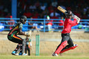Jason Mohammed plays a cut, Trinidad & Tobago v Guyana, Nagico Super50 final, Trinidad, January 25, 2014