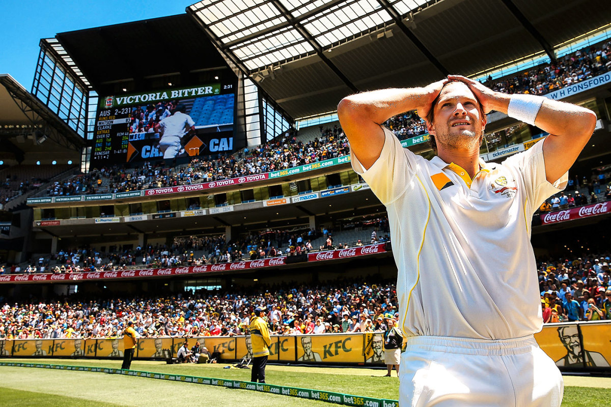 Shane Watson cools off