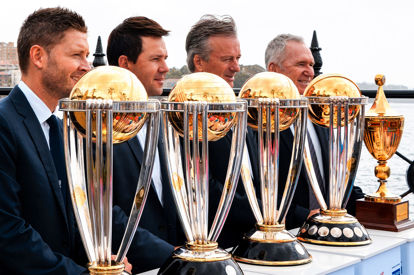 Ricky Ponting enjoyed three consecutive World Cup wins, captaining Australia in two
