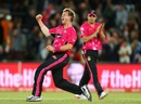 Brett Lee was on a hat-trick in his final over in T20 cricket, Perth Scorchers v Sydney Sixers, Big Bash League 2014-15, final, Canberra, January 28, 2015
