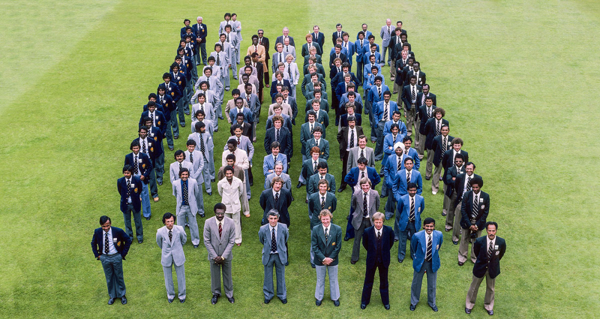 The first of the top-view squad shots, from the 1979 tournament