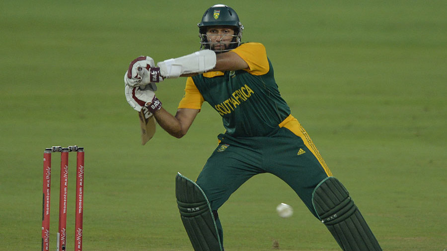 Hashim Amla brought out all his shots