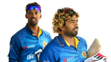 Lasith Malinga was on the sidelines of the game