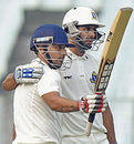 Shreevats Goswami scored 62 and shared a crucial partnership with Manoj Tiwary, Bengal v Railways, Ranji Trophy 2014-15, Group A, 8th round, 1st day, Kolkata, January 29, 2015