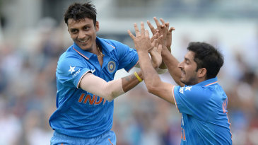 Axar Patel exults after dismissing Moeen Ali