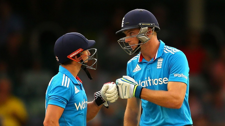 James Taylor and Jos Buttler shared in a 125-run stand