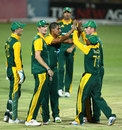 Beuran Hendricks removed Jason Roy for 10, South Africa A v England Lions, 5th unofficial ODI, Benoni