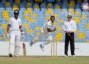 Orlando Peters dismissed Kirk Edwards for 5, Barbados v Leeward Islands, Regional 4 Day Tournament 2014-15, 1st day, Bridgetown, February 6, 2015