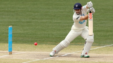 Peter Nevill drives through the off side