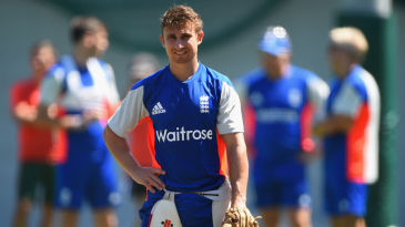 James Taylor goes through a net session