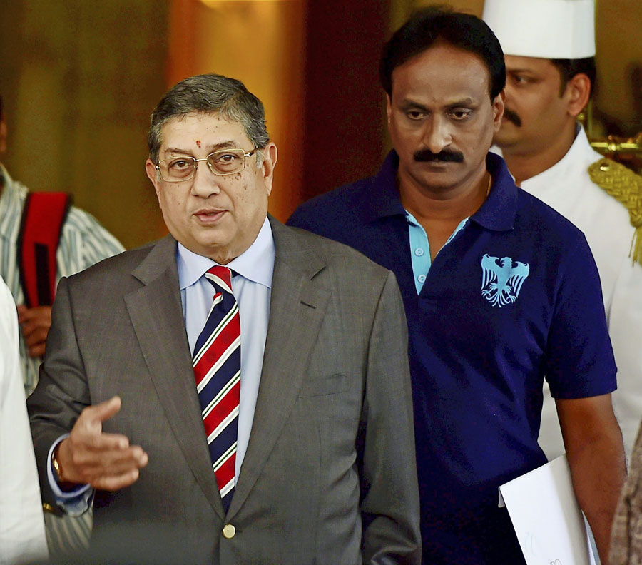 Ex-chief Srinivasan back in focus — BCCI SGM