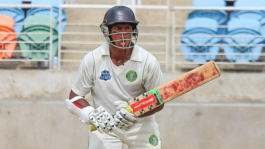 Shivnarine Chanderpaul made 77 in Guyana's second innings