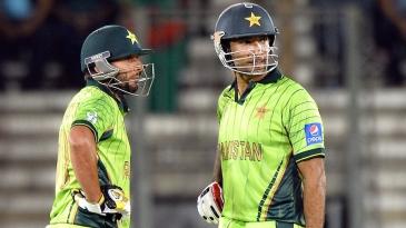Sohaib Maqsood and Shahid Afridi shared a stand of 41 runs