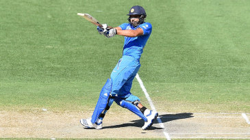 Rohit Sharma pulls for four