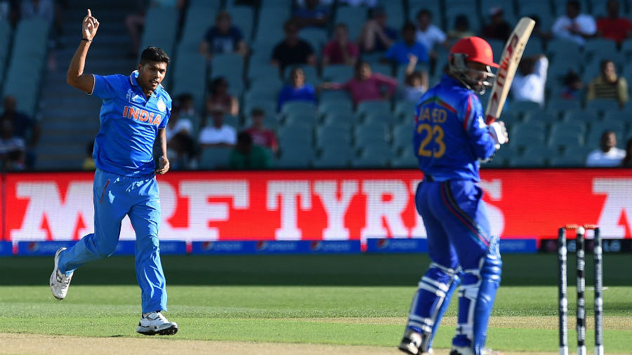 ind vs afg india beat afghanistan to register their first