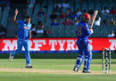 Umesh Yadav had opener Javed Ahmadi caught behind for 17, Afghanistan v India, World Cup warm-ups, Adelaide, February 10, 2015