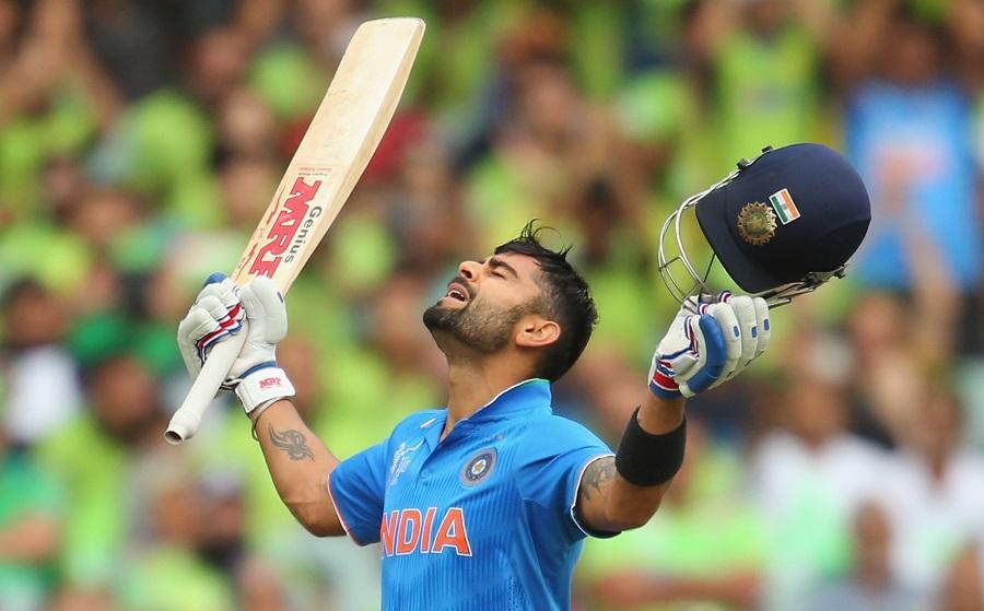 107 Runs Virat Kohli Batting Highlights India Vs Pak World