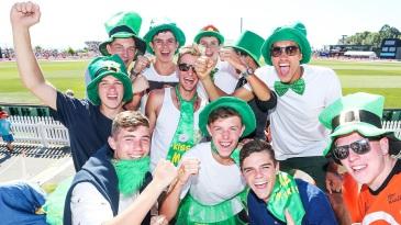 Ireland fans had plenty of reasons to smile