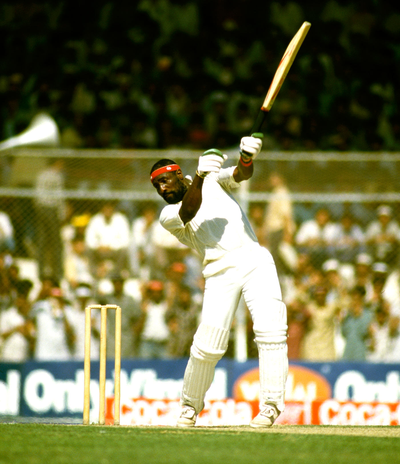 Mind the gap: to Richards, batsmanship was all about placing the ball between fielders