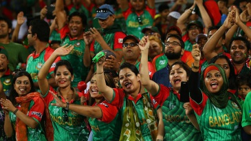 Bangladesh fans are ecstatic after the 105-run win over Afghanistan
