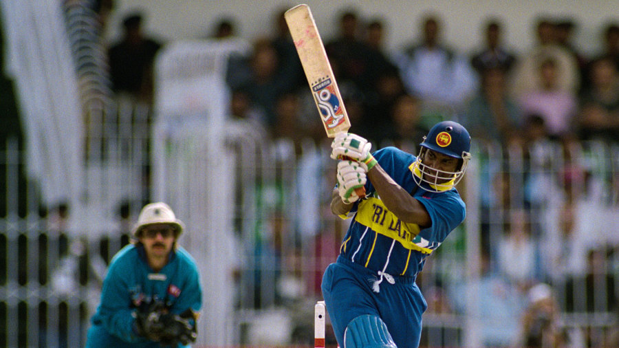 Sanath Jayasuriya blasted 82 off 44 balls