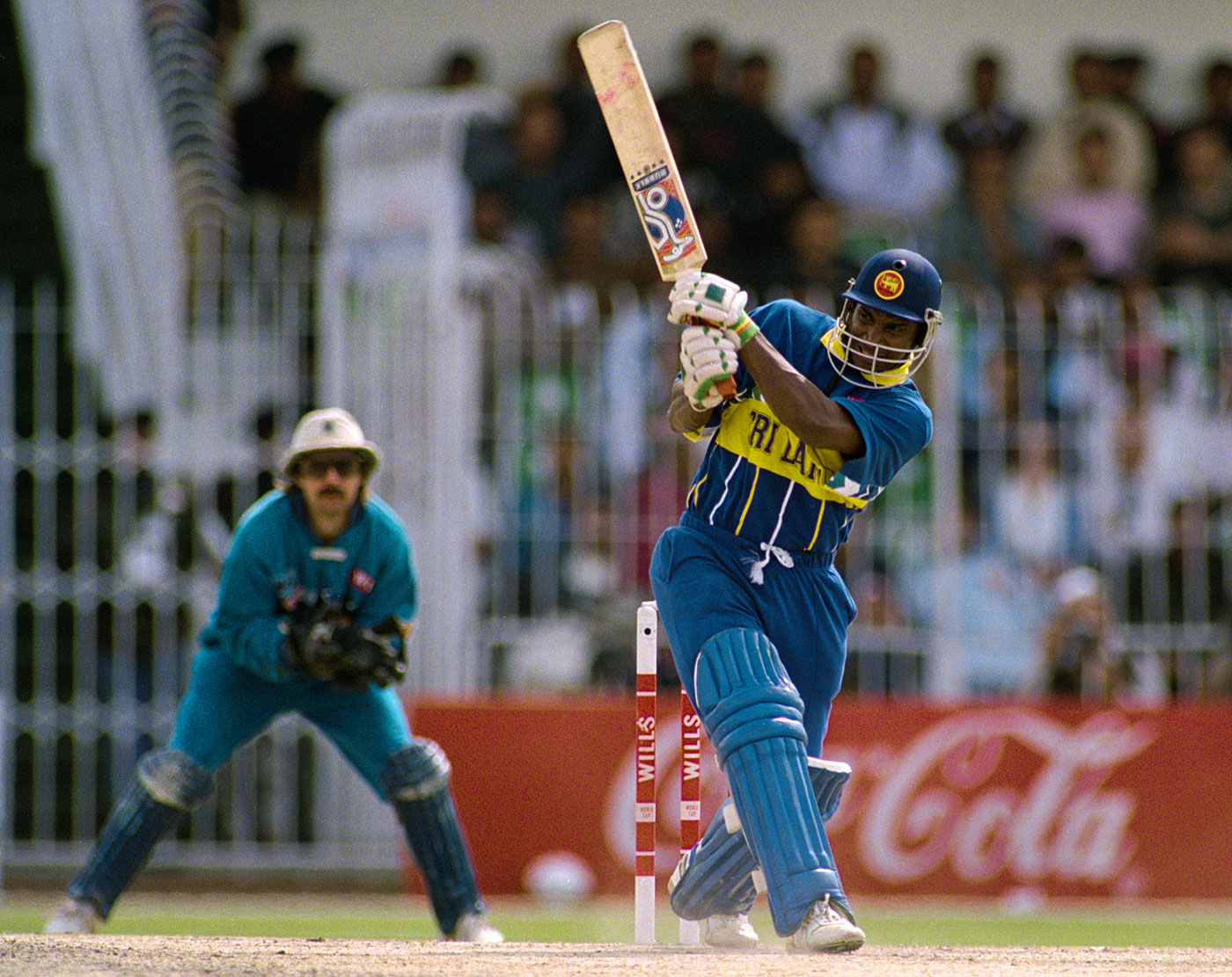 Eighty-two off 44 balls in 13 overs in the quarter-final wasn't enough for Sanath Jayasuriya to win an expensive watch but he went on to get the the Man-of-the-Tournament prize