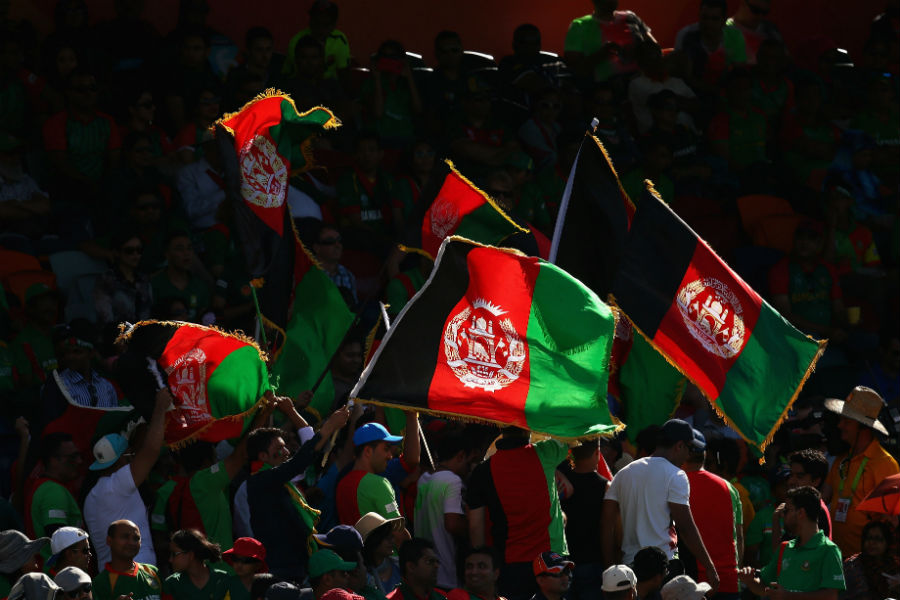 It was a big moment for Afghanistan who were making their debut in the 50-over World Cup