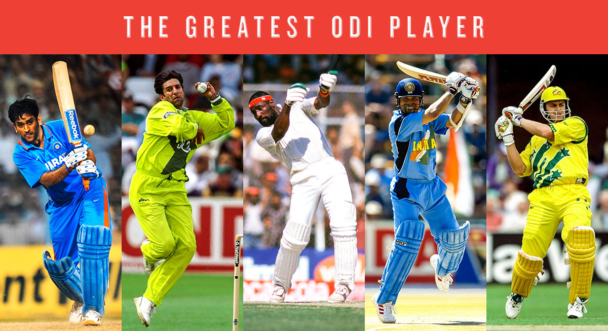 Composite: The top five greatest ODI cricketers