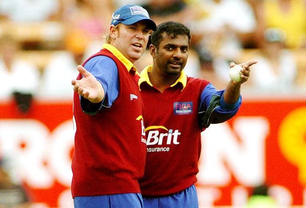 Warne's two World Cup semi-final performances got him votes over Murali, whose overall ODI stats are superior