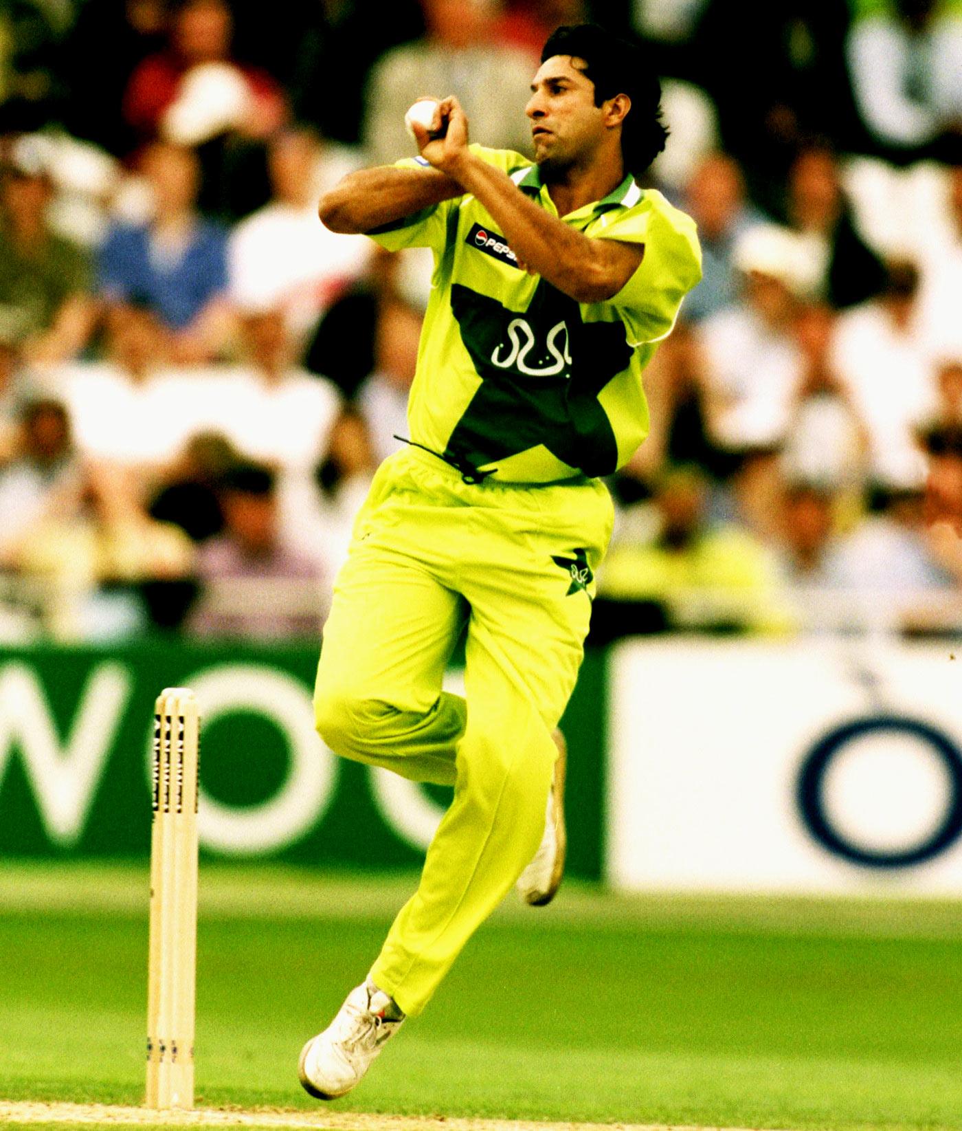 Sensational in 60 balls: Akram's genius shone through in ODIs as it did in Tests