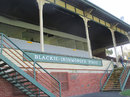 The old grandstand at Junction Oval, St Kilda, February 20, 2015