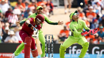Umar Akmal is ready to latch on to the ball