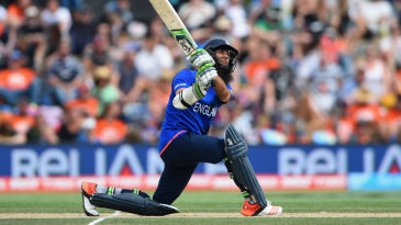 Moeen Ali's century was only the second by an England batsman in ODIs in New Zealand