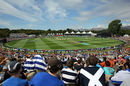 The Hagley Oval drew a big crowd , England v Scotland, World Cup 2015, Group A, Christchurch, February 23, 2015