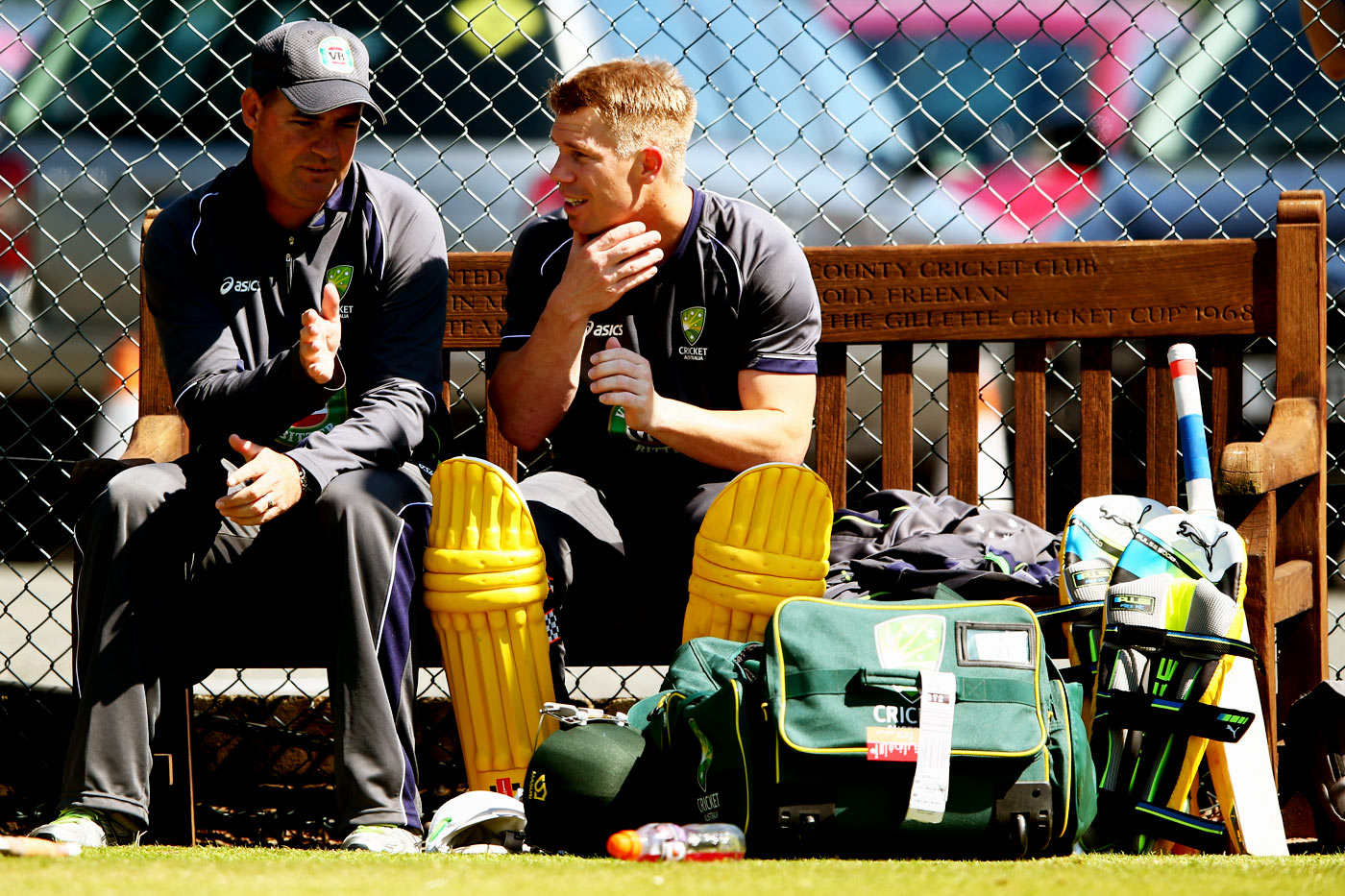 Warner got into a fracas with Joe Root during Mickey Arthur's tenure as Australia coach: