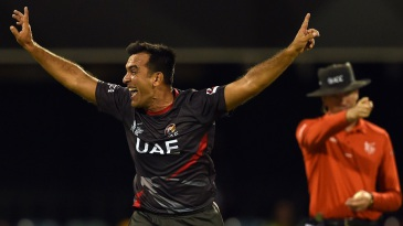Mohammad Tauqir picked up the wickets of William Porterfield and Niall O'Brien