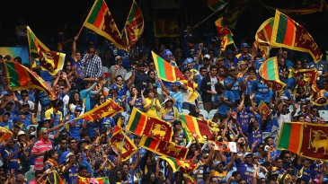 Sri Lanka fans throng the MCG