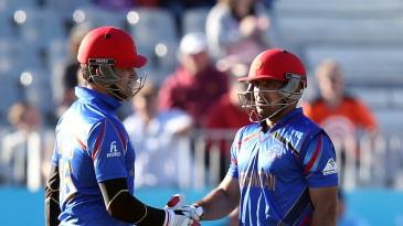 Hamid Hassan and Samiullah Shenwari added 60 runs for the ninth wicket