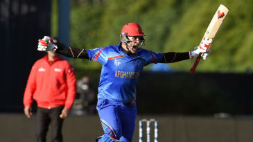 Hamid Hassan remained unbeaten on 15 from 39 deliveries