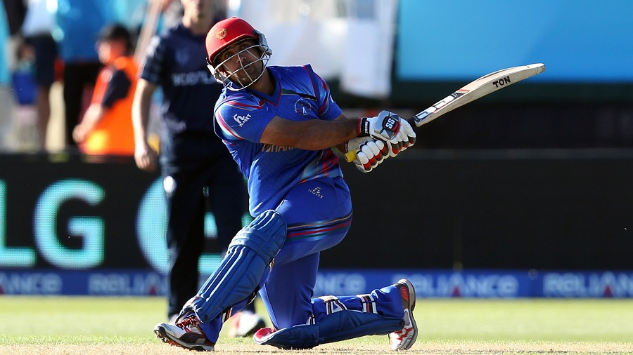 Samiullah Shenwari struck three sixes in the 47th over to change the game